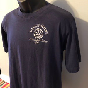 Vintage Shirts - 1989 Fire Island Outing Shirt Rotary International